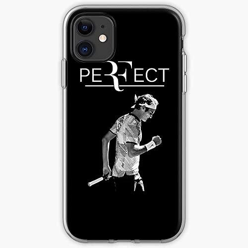 Compatibile con Samsung/iPhone 12/11/X/XR/7/Xiaomi Redmi 9A/Note 9/10/8 Pro Custodie Tournament Champion Wimbledon Rf Roger Tennis Federer Custodie per Telefoni Cover