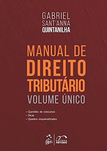 Manual de Direito Tributário - Volume Único