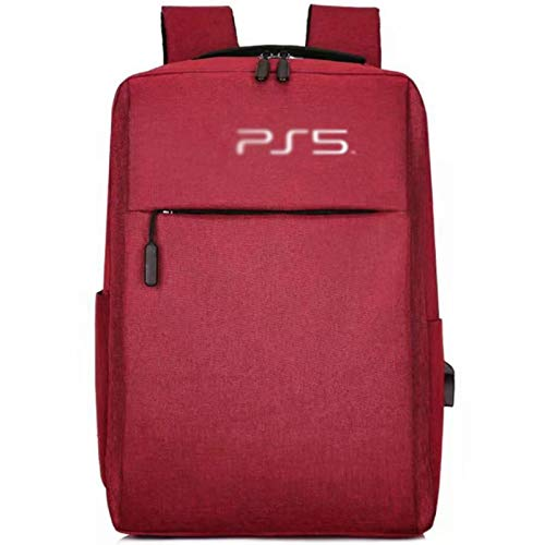 YWZQ para PS5 Juego Sytem Mochila Lienzo Llevar Bags Funda Protectora para Playstation 5...