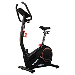 """Flywheel: 9kg (19.8lbs); 32 Levels Of Electronic Magnetic Resistance; Whisper Quiet Scalable Programmes: 12 Pre-Set, 1 Manual, 4 HRC, 1 User-Defined, 1 Watt; Body Fat & Recovery Modes Dual Colour Backlit 5.4"""" LCD Display; 4 User Profiles For Increase..."""