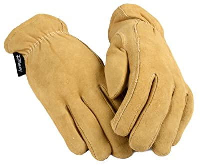 Forney Deerskin Leather Driver Suede Lined Women's Gloves