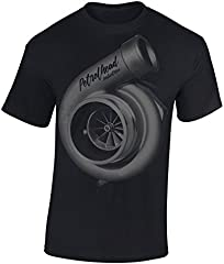 Petrolhead: Turbocharger supercargador - Camiseta Motor - Regalo Hombre - T-Shirt Racing - Camisetas Coches - Tuning - Moto - Coche - Car - Cafe Racer - Biker - Rally - JDM - Unisex