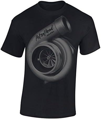 Petrolhead: Turbocharger supercargador - Camiseta Motor - Regalo Hombre - T-Shirt Racing - Camisetas Coches - Tuning - Moto - Coche - Car - Cafe Racer - Biker - Rally - JDM - Unisex
