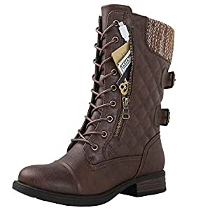 GLOBALWIN Mid Calf Boots