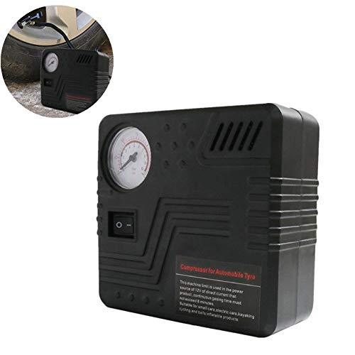 Hinchador Electrico Compresor Coche Inflador de neumáticos con manómetro Inflador Digital de neumáticos Herramienta de aire Inflador de neumáticos