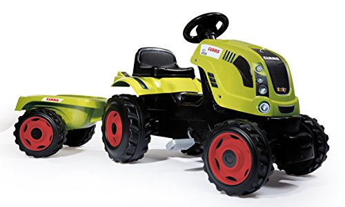 Smoby 7600710114 - Traktor Farmer Claas Arion 400, Outdoor, Sport, XL, grün