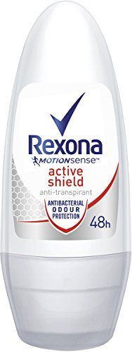 Rexona Deo Roll-on Active Shield Anti-Transpirant, 6er Pack (6x 50ml)