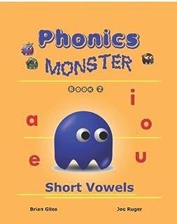 Phonics Monster - Book 2: Short Vowels