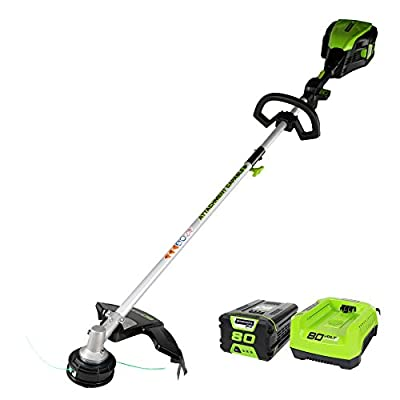 Greenworks Cordless String Trimmer Battery and Charger Included