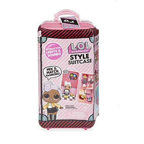 L.O.L. Surprise! Style Suitcase Interactive Surprise - D.J. [並行輸入品]
