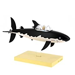 Moulinsart Resin Figure The Submarine Shark - Icons Collection, Adults, Unisex, Black, One Size #1