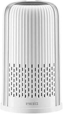 Homedics TotalClean 4 in 1 Tower Air Purifier 360 Degree HEPA Filtration for Allergens Dust product image