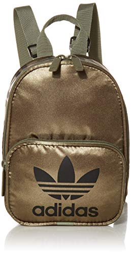 adidas Originals Women's Santiago Mini Backpack, Legacy Green/Black, ONE SIZE
