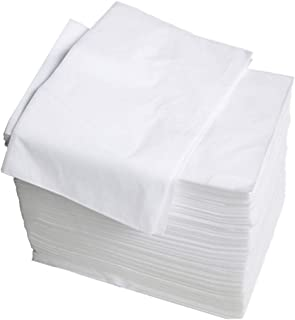 perfektchoice 100 Disposable Bed Sheets for Massage Facial Beauty, Body Waxing, Spa, Massage, Non-Woven Bed Pads Mats - 70x170cm