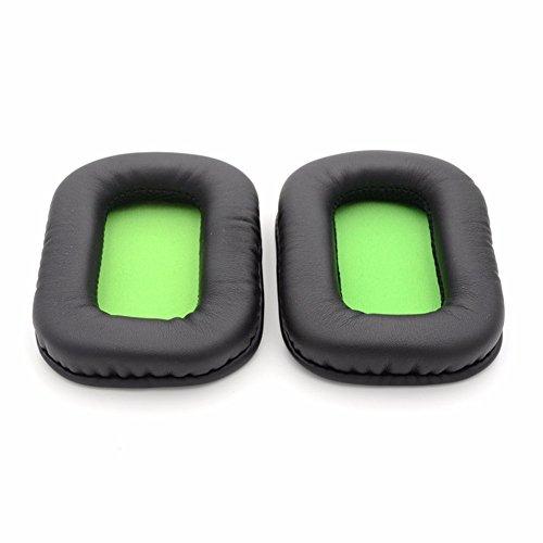 yunyiyi 1Paar Ohr Pads Ersatz Kissen Ohrpolster Schaumstoff Kissen Bezug Tassen Ersatzteile für Mad Catz Tritton Kunai PS4Stereo Gaming Headset Kopfhörer