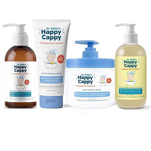 Happy Cappy All Products Bundle | Manage Seborrheic Dermatitis and Sensitive Skin