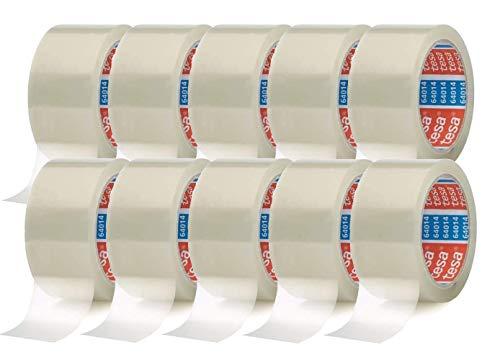 tesa Paketklebeband (66 m x 50 mm) transparent (10 Rollen)