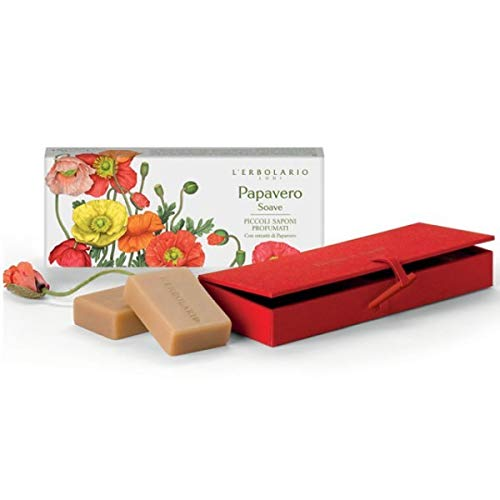 L'Erbolario – Parfüm Soave klein Seifen Duftbox Stoff 140 g