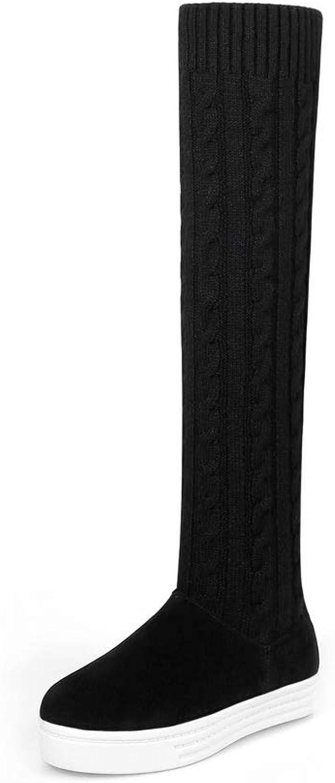AdeeSu Womens Sponge Soles Wool Boots SXC03492
