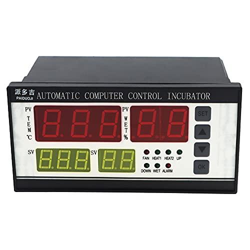 huatuo® termostato Digital controlador multifunción/Incubadora Automática de Huevos de Aves Gallinas Patos, Sensor de Temperatura para incubateur de pequeña talla xm-18
