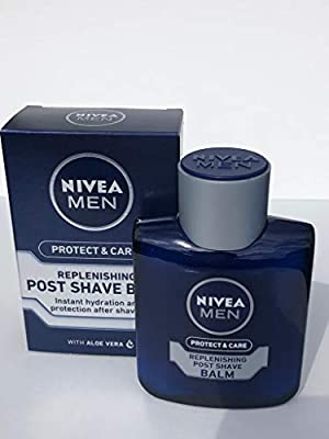 THREE PACKS of Nivea For Men Replenishing Aftershave Post Shave Balm from Nivea