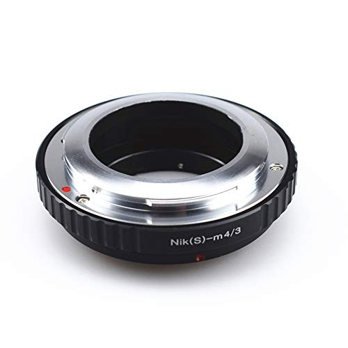 AMOPOFO Compatible con Objetivos Canon FD, EOS EF, FX Lens/MD Lens/MD Lens/M42 Lens & Micro 4/3 M4/3 Adapter LUMIX GX7 GF6 GH3 G5 G3 &...