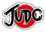 JJH Inc Judo Logo Vinyl Decal Sticker Waterproof Car Decal Bumper Sticker 5'