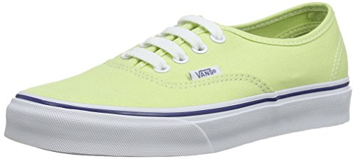 Vans Unisex-Erwachsene U Authentic Sneaker, Grün (Shadow Lime/True White), 38 EU