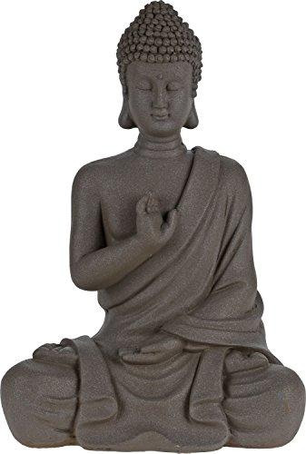 Statuette de Bouddha assis - en ciment, Mehrfarbig, 54cm