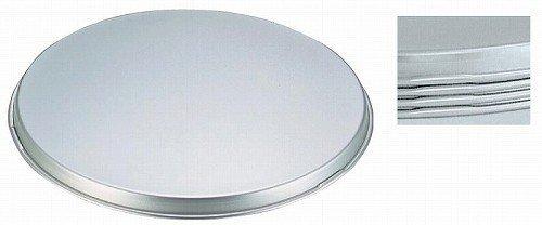 アカオアルミ 平型 ボール蓋 21cm用 アルミニウム合金(アルマイト) 日本 ABCC102