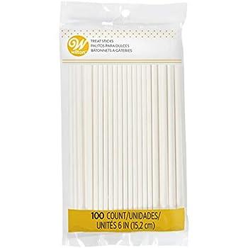 Wilton White 6-Inch Lollipop Sticks 100-Count