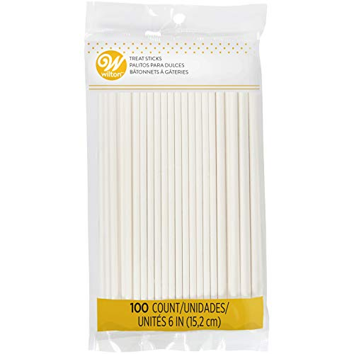 Wilton White 6-Inch Lollipop Sticks