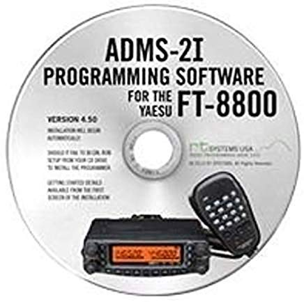 USB Programming Software & Cable for Yaesu FT-8800R