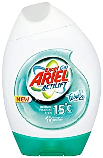 Ariel Excel Gel with Febreze Laundry Detergent 18 Washes (Pack of 6, Total 108 Washes) (B003PJ656G) | Amazon price tracker / tracking, Amazon price history charts, Amazon price watches, Amazon price drop alerts