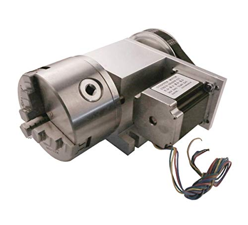 Review Of Hollow Shaft 4th Axis Router Rotational A Axis Φ100mm 3 Jaw Chuck 6:1 Reducing Ratio CNC Engraving Machine