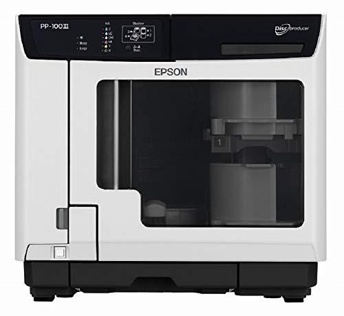 エプソン CD/DVD/BD 読み込み・書き込み・レーベル印刷 ディスク デュプリケーター 100枚一括作成 PP-100-3