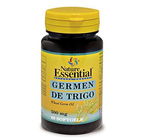 NATURE ESSENTIAL | Aceite de Germen de Trigo 500 mg | 60 Perlas