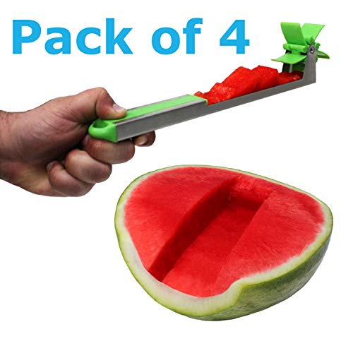 Blue Donuts Watermelon Slicer Fruit Cutter Stainless Steel Fruit...
