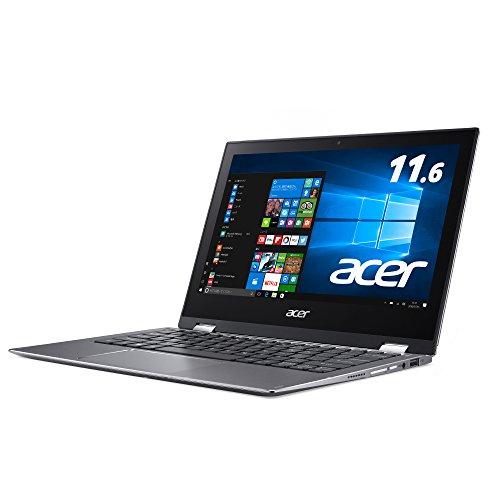 Acer ノートパソコン Spin1 Celeron/11.6インチ/4GB/64GB/ペンあり eMMC/IPS/Windows10 SP111-32N-A14P