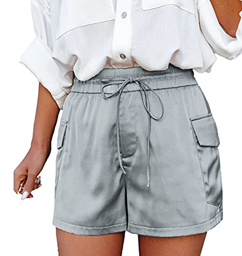 AFFGEQA Damen Shorts Sommer Hotpants...