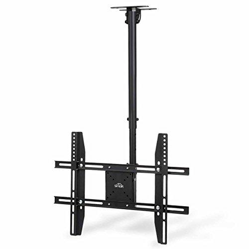 SIMBR Soporte TV de Techo con Altura Ajustable Soporte para Televisión con Pantalla LED/LCD/Plasma de 22-75