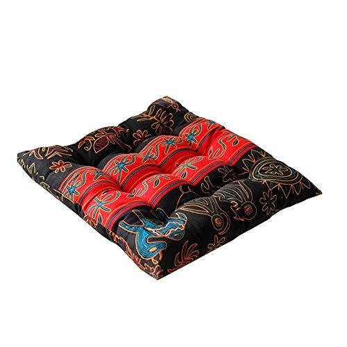 DFGH Garten Kissen, weiche Kissen, Haushaltsschwamm hohe elastische Baumwollkissen, Büro Studentenstuhlkissen, Stuhl Kissen, Baumwolle und Leinen Stuhl Kissen
