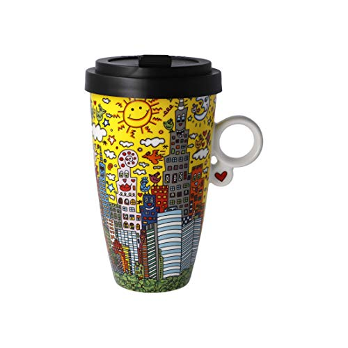 Café to go My New York City Sunset James Rizzi 500 ml porcelana