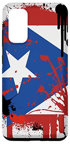 Galaxy S20 Puerto Rico Flag Phone Case   Boricua Gift for Puerto Ricans Case