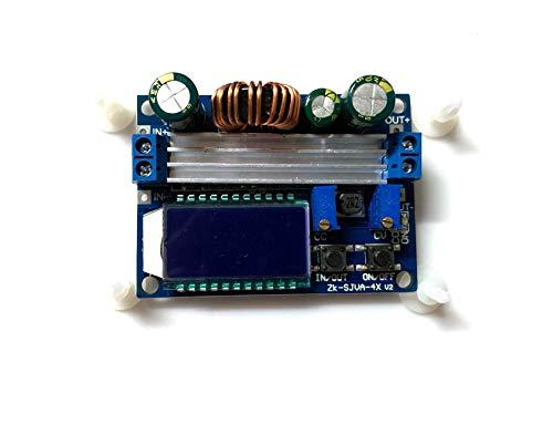 JVJ DC 5.5-30V zu 0.5-30V 35W LCD Step up down Stromversorgungsmodul CC CV Buck