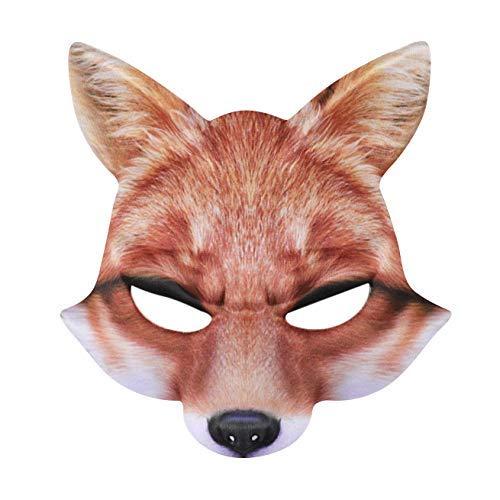 ACEBABY Máscara Carnaval Máscara Zorro Media Cara