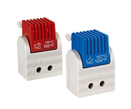 Schaltschrank Thermostat (NO), Grundeinst. (ºC) 35,120-250 Volt AC