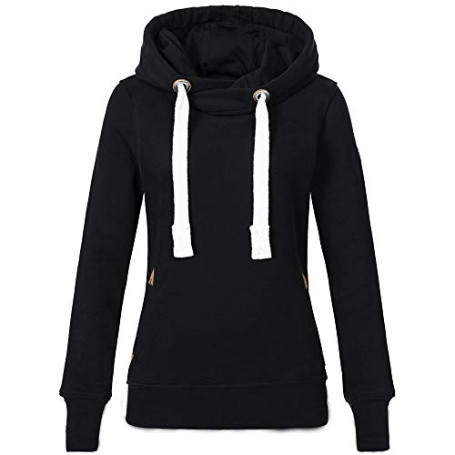 Find Discount jin&Co Women's Hooded Sweatshirts Plus Size Long Sleeve Solid Color Hooded Pullover ...