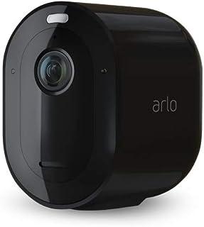 Arlo Pro3 Ultra Smart Home Draadloze 4K HDR Bewakingscamera En Veiligheidsalarm, Zwart, Set Van 2
