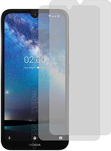 4ProTec 2X ANTIREFLEX matt Schutzfolie für Nokia 2.2 Bildschirmschutzfolie Displayschutzfolie Schutzhülle Bildschirmschutz Bildschirmfolie Folie